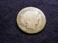 1916 S BARBER DIME GREAT COIN!!  7