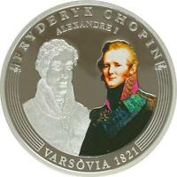 A416 ANDORRA 10 DINERS ARGENT SILVER 2009 CHOPIN VARSOVIE 1849 BE PROOF PP