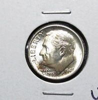 1947 S ROOSEVELT DIME UNCIRCULATED
