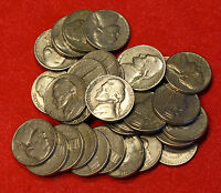 1957 D JEFFERSON NICKEL 5 ROLLS 200 COINS CIRCULATED NICE COINS CHCK OUT STORE