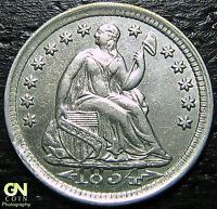 1854 P SEATED HALF DIME      MAKE US AN OFFER!  G4369