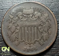 1864 2 CENT PIECE  --  MAKE US AN OFFER  Y3379
