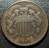 1864 2 TWO CENT PIECE  --  MAKE US AN OFFER  Y4141