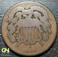 1864 2 CENT PIECE  --  MAKE US AN OFFER  Y3457
