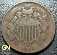 1864 2 CENT PIECE  --  MAKE US AN OFFER  Y3453