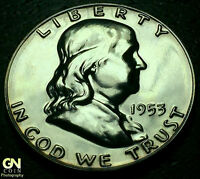 1953 PROOF FRANKLIN HALF DOLLAR      MAKE US AN OFFER!  W3055 ZXCV