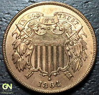 1864 2 CENT PIECE  --  MAKE US AN OFFER  Y3581