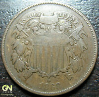 1868 2 CENT PIECE      MAKE US AN OFFER!  Y2461