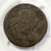 1799/8 S-188 R-4 PCGS FR 02 DRAPED BUST LARGE CENT COIN 1C
