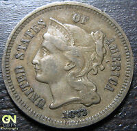 1873 3 CENT NICKEL PIECE      MAKE US AN OFFER  O2469