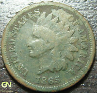 1865 INDIAN HEAD CENT  --  MAKE US AN OFFER  Y2127