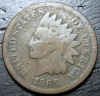 1865 INDIAN HEAD CENT  --  MAKE US AN OFFER  T1237