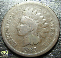 1865 INDIAN HEAD CENT  --  MAKE US AN OFFER  G3142