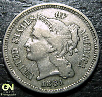 1881 3 CENT NICKEL PIECE      MAKE US AN OFFER  O1187