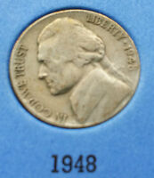 1948 USA NICKEL   WHAT YOU SEE IS WHAT YOU GET CHEAP