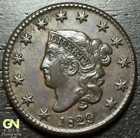 1829 CORONET HEAD LARGE CENT N8 R1        MAKE US AN OFFER  O2892