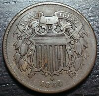 1864 2 CENT PIECE  --  MAKE US AN OFFER  Y1513