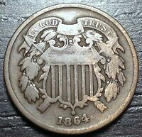 1864 2 CENT PIECE  --  MAKE US AN OFFER  Y1515