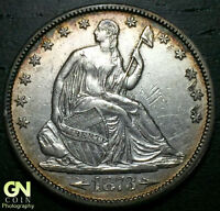 1873 P SEATED LIBERTY HALF DOLLAR      MAKE US AN OFFER  Y4953