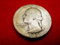 1935 S WASHINGTON QUARTER NICE COIN    70