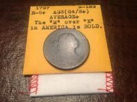 1797 S-129, R5 DRAPED BUST LARGE CENT