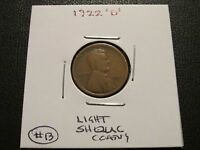1922 D LINCOLN CENT   WORN LISTING 13