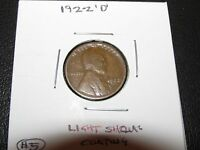 1922 D LINCOLN CENT   WORN LISTING 5