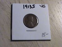 1913 S LINCOLN CENT -  ONE OF THE SEMI-KEY DATES  -  CONDITION  P556 L93