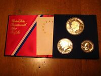 US MINT 1776 1976 UNITED STATES BICENTENNIAL SILVER PROOF SET