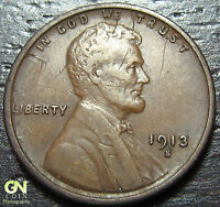 1913 S LINCOLN CENT  -- MAKE US AN OFFER  Y3075