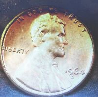 UNCIRCULATED 1964D LINCOLN MEMORIAL PENNY