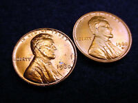 1960 P & D SMALL DATE LINCOLN CENTS 2 GREAT BU COINS   68