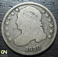 1830 CAPPED BUST DIME      MAKE US AN OFFER  W3674 ZXCV