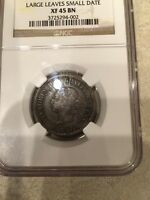 1891 KEY DATE CANADA LARGE CENT SD LL REGISTRY NGC XF 45 BN FREE SHIP US CAN