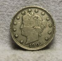 U.S.COINS1905 LIBERTY NICKEL