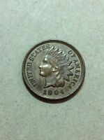 1904 INDIAN HEAD CENT. UNC. MS CONDITION.  SHIPS FREE  INV2034