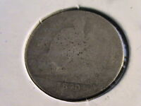1840 P SEATED LIBERTY DIME   CIRCULATED   LOW RESERVE   D450 L112