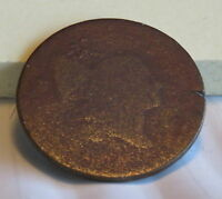 1793 1797 HALF CENT NO DATE    SEE PHOTOS FOR CONDITION