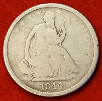 1844 O SEATED LIBERTY HALF DOLLAR G BEAUTIFUL COIN CHK OUT STORE   $ SH25