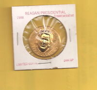 1980 KENNEDY 50 CENT HALF DOLLAR PRESIDENT REAGAN REPOUSSE PUNCH PRESSED 3D COIN