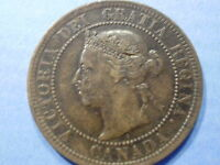 OLD 1891 CANADA LARGE CENT  SH CANADA IS 1.50