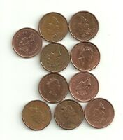 10 CANADA SMALL CENT ELIZABETH II 1994 VF MONEY COIN CANADIAN PENNY