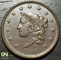 1836 CORONET HEAD LARGE CENT N2 R3        MAKE US AN OFFER  O2920