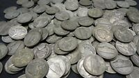 LOT OF 40 ONE ROLL 35 SILVER WAR NICKELS 1942 1945 BULLION US COINS 02