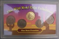 THE WILD WEST COIN COLLECTION - 5 LIBERTY NICKEL 1903, 1905, 1908 AND 21912