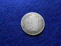 ANTIQUE FRENCH LOUISXV 1730 SILVER COIN