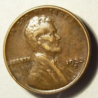 1933 D LINCOLN WHEAT CENT BEAUTIFUL COIN 334