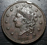 1836 CORONET HEAD LARGE CENT     MAKE US AN OFFER O3718