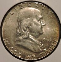 FRANKLIN HALF DOLLAR   1963 D   HISTORIC SILVER   $1 UNLIMITED SHIPPING