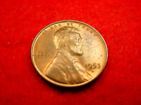 1953-D LINCOLN CENT GREAT BU COIN FROM ORIGINAL ROLL  5
